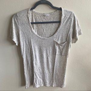 Club Monaco Comfy Basic Short Sleeve Tshirt Medium